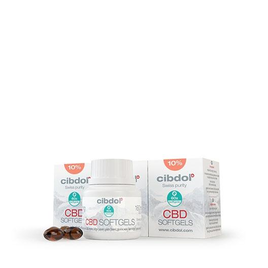 Kapsułki Żelowe CBD 10% — opakowanie zbiorcze