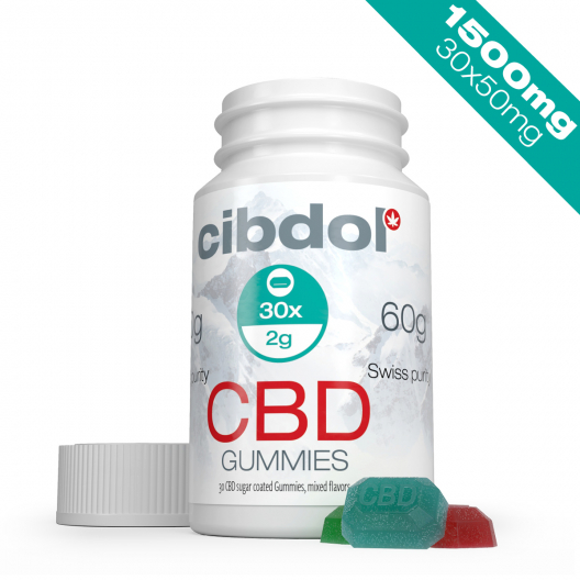 Żelki CBD (1500 mg CBD)